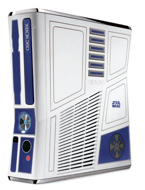 Custom Xbox 360 Console Custom r2 d2 Themed Xbox 360