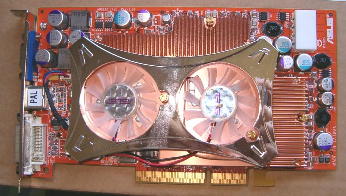 Review ASUS Radeon 9800XT TVD