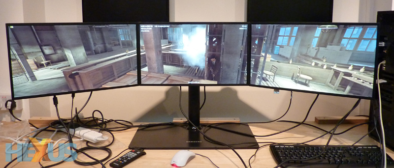 review sapphire radeon hd 6990 on three screen eyefinity graphics