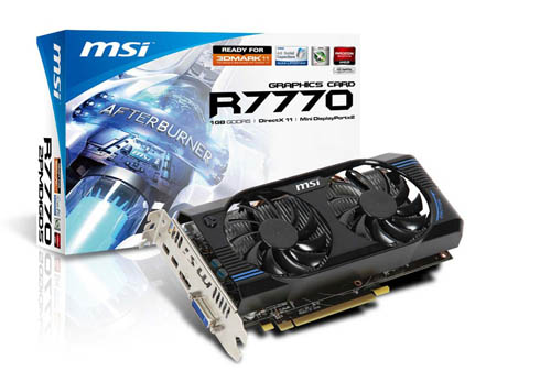 Review: MSI Radeon HD 7770 OC CrossFire examination - Graphics