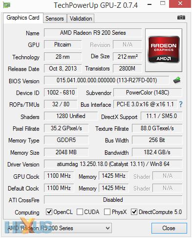 Review: PowerColor Radeon R9 270X PCS+ - Graphics - HEXUS
