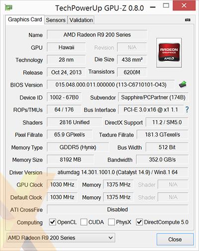 Review Sapphire Radeon R9 290x Vapor X 8gb Graphics Hexus Net Page 2