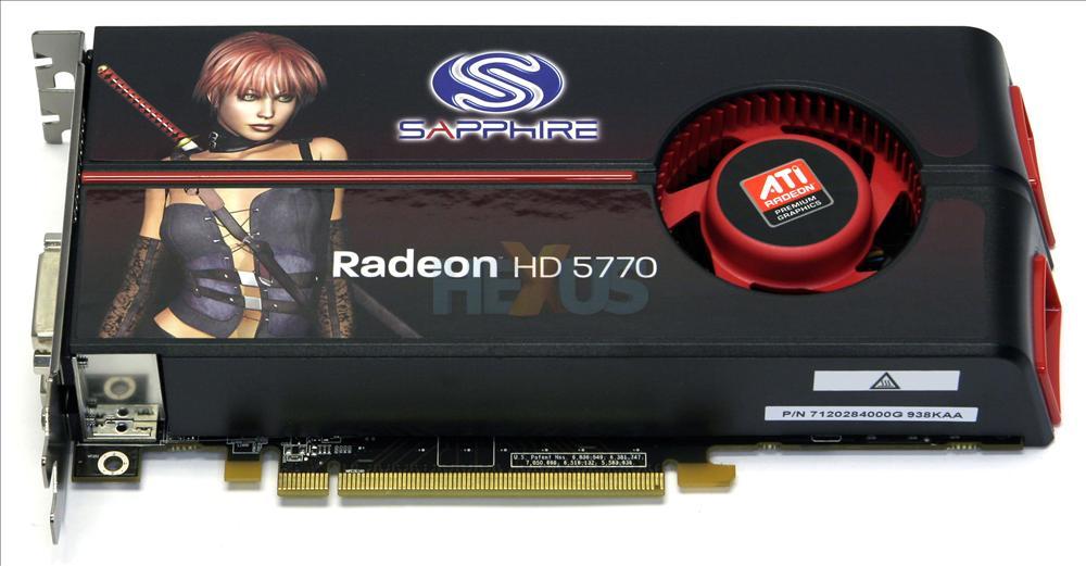 Radeon hd 5770 sapphire драйвер.