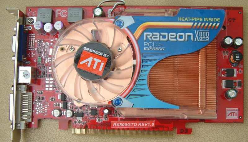 Скачать драйвер для radeon x800 gto