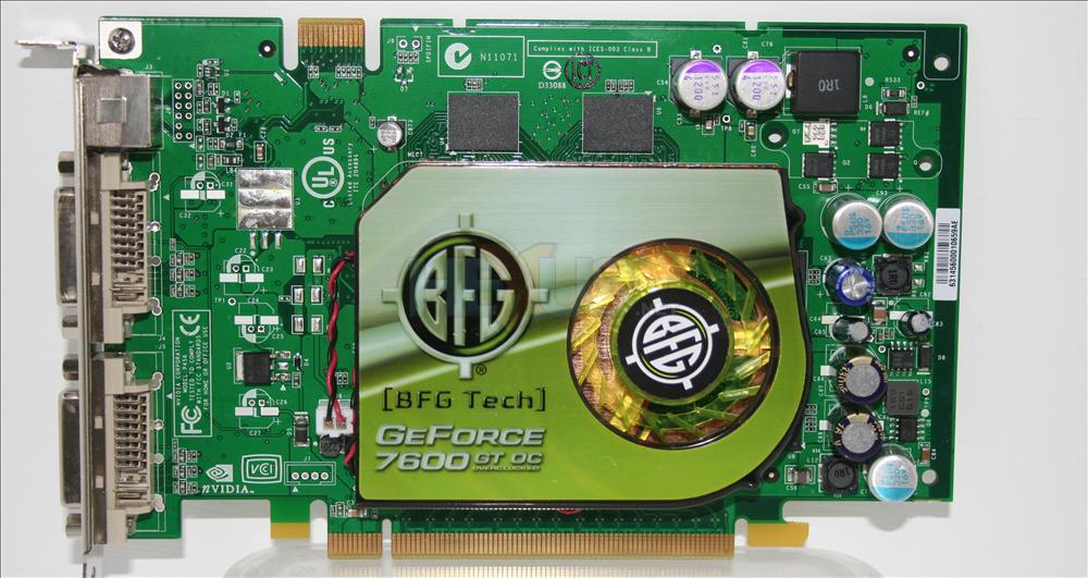 Geforce драйвер gt 7600