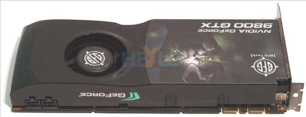 We Can Discern The High End Aspirations Of Card By Looking At Two Six Pin PCIe Power Connectors On Left Hand Side GeForce 8800 GTS 512s