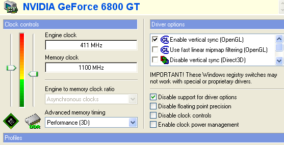 Thats Faster Than A Regular GeForce 6800 Ultra Cards Default Clocks Not Bad For Card 100 Or So Cheaper Of Course Ultras Will On Balance
