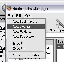 New Livemark...