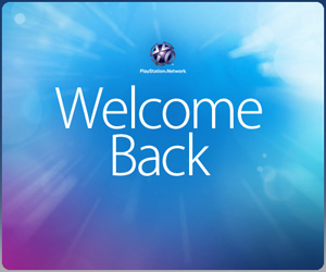psn welcome back