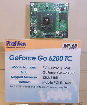 GeForce Go 6200 TC