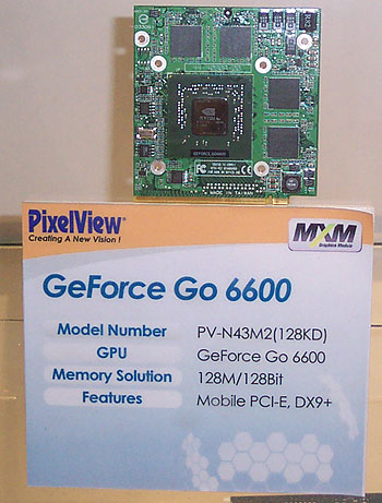 GeForce Go 6600