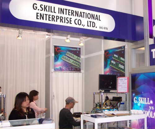 G.Skill Booth
