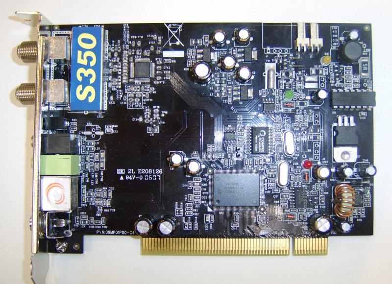 Closed Compro VideoMate S350 TV Tuner