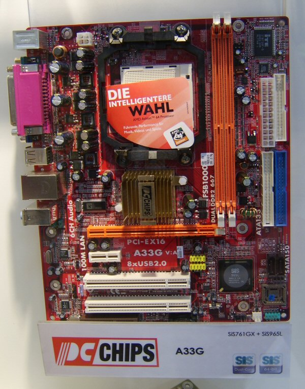 A33g motherboard