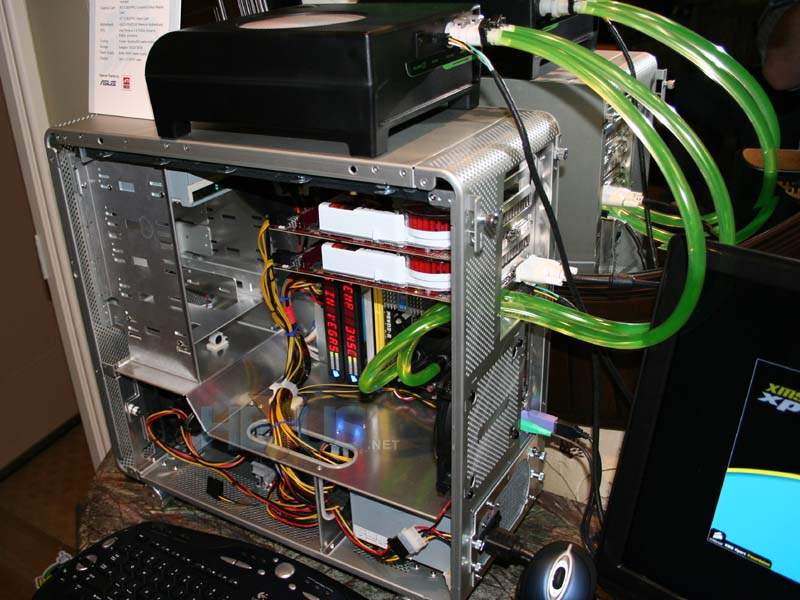 Computer Cooling System : Corsair demo nautilus cooled computer cooling news