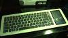 ASUS Eee PC in a keyboard