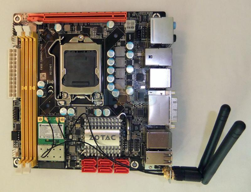 ZOTAC H55-ITX mainboard crams Clarkdale into mini-ITX form factor