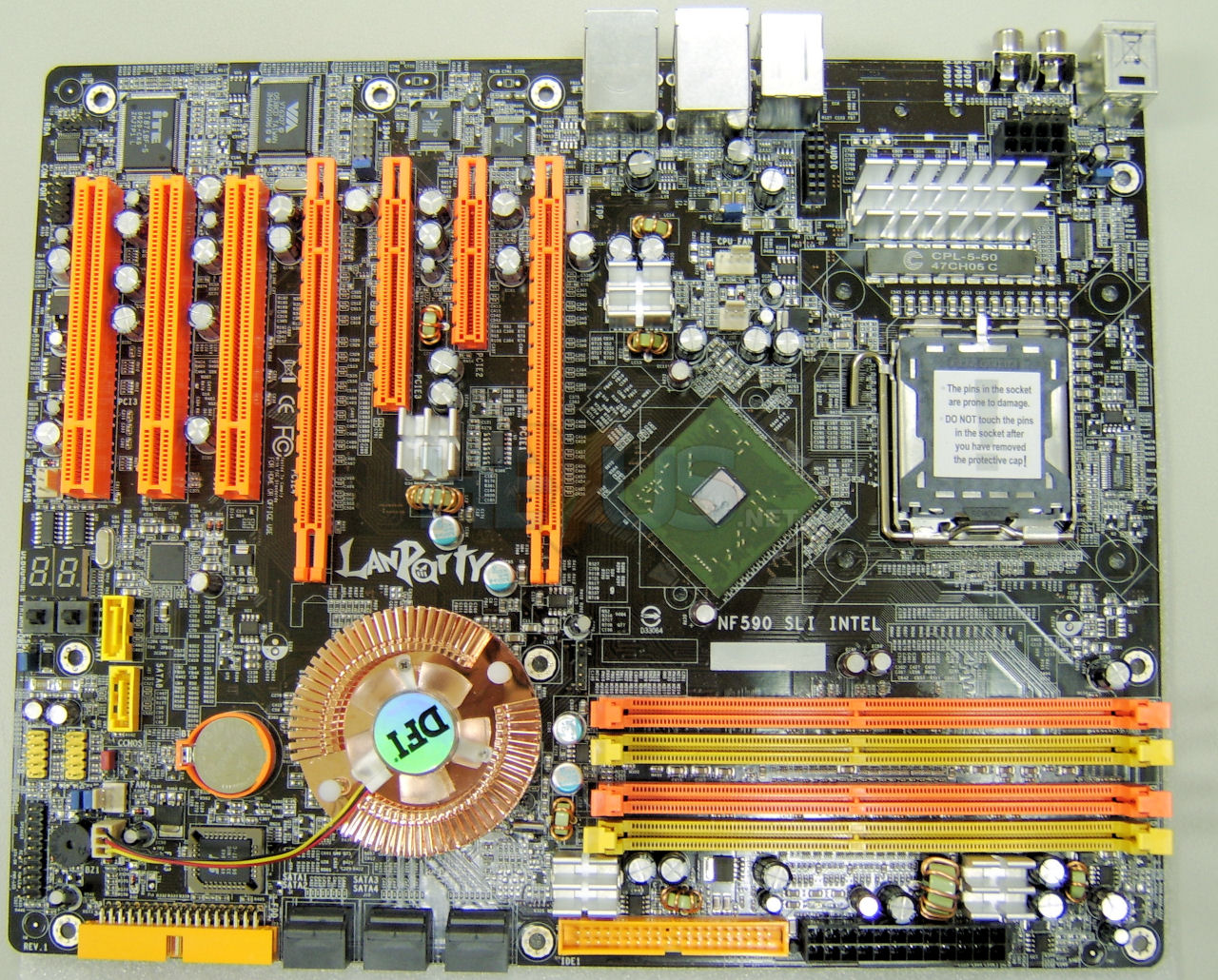 The Conroe Motherboard List Archive Overclockers Forums Mainboard Lga 775 I945 Off Board