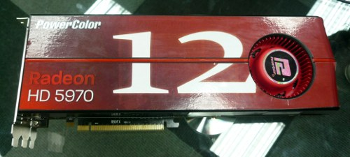 PowerColor 12 port graphics card