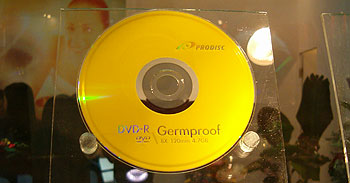 Germproof media