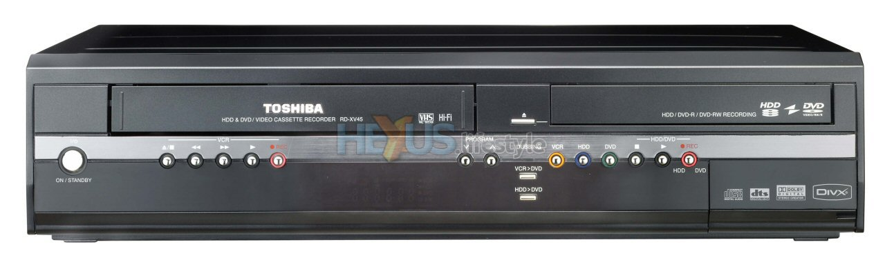 Ifa 2006 toshiba covers all bases with the rd xv45 audio visual record to and from vhs hdd dvd publicscrutiny Image collections
