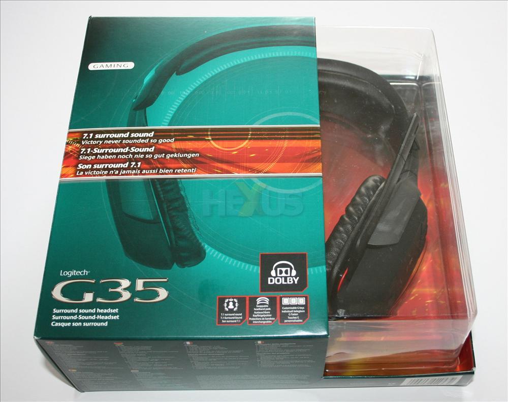 Review: Logitech G35 Surround Sound headset. Worth £100? - Audio ...