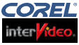 Corel and InterVideo logos