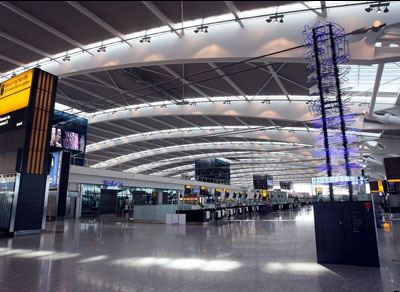 Heathrow T5 - the quiet before the storm