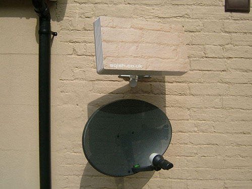 Hide Your Satellite Dish With A Sqish Audio Visual