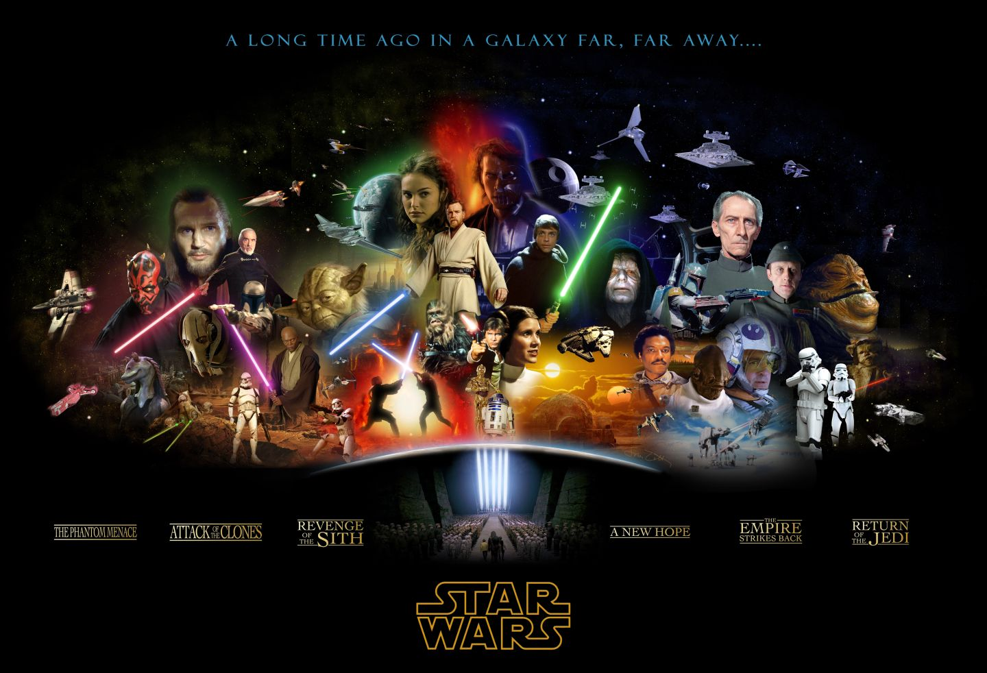 The Ultimate Star Wars Poster