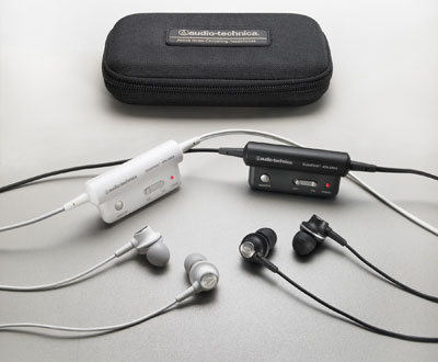 ATH-ANC3 QuietPoint active noise-cancelling headphones