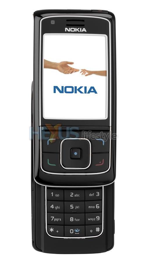 Nokia 6288 3G Slide Phone