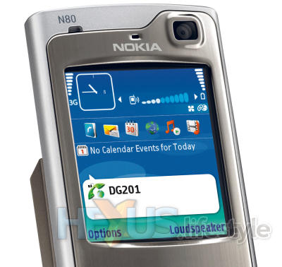 Nokia N80 Internet Edition - VoiP
