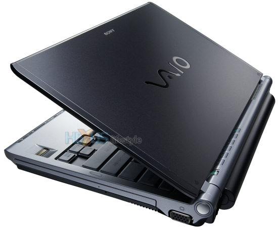 Sony VAIO TX-3 laptop
