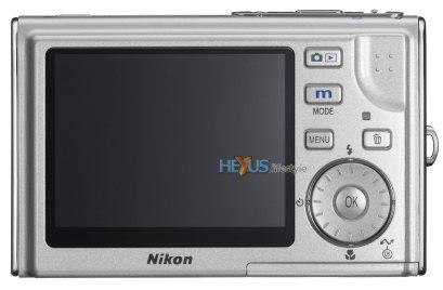 Nikon COOLPIX S5 back