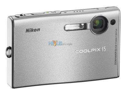 Nikon COOLPIX S5 front