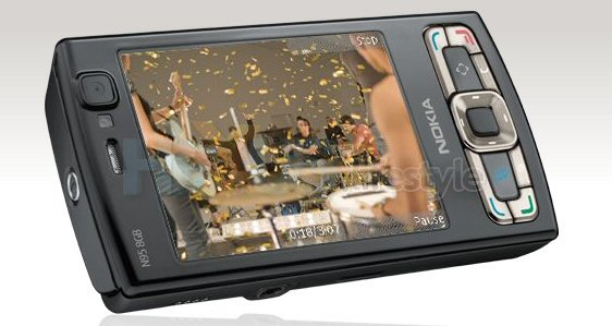 Nokia N95 8GB Graphics chip