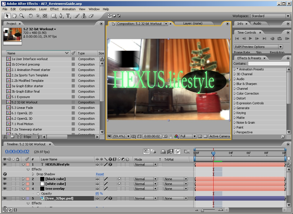 The industry standard just raised its standards with After Effects CS6