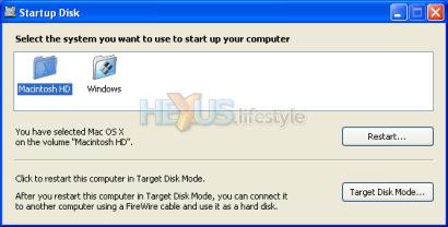 XP Startup Disk control panel applet