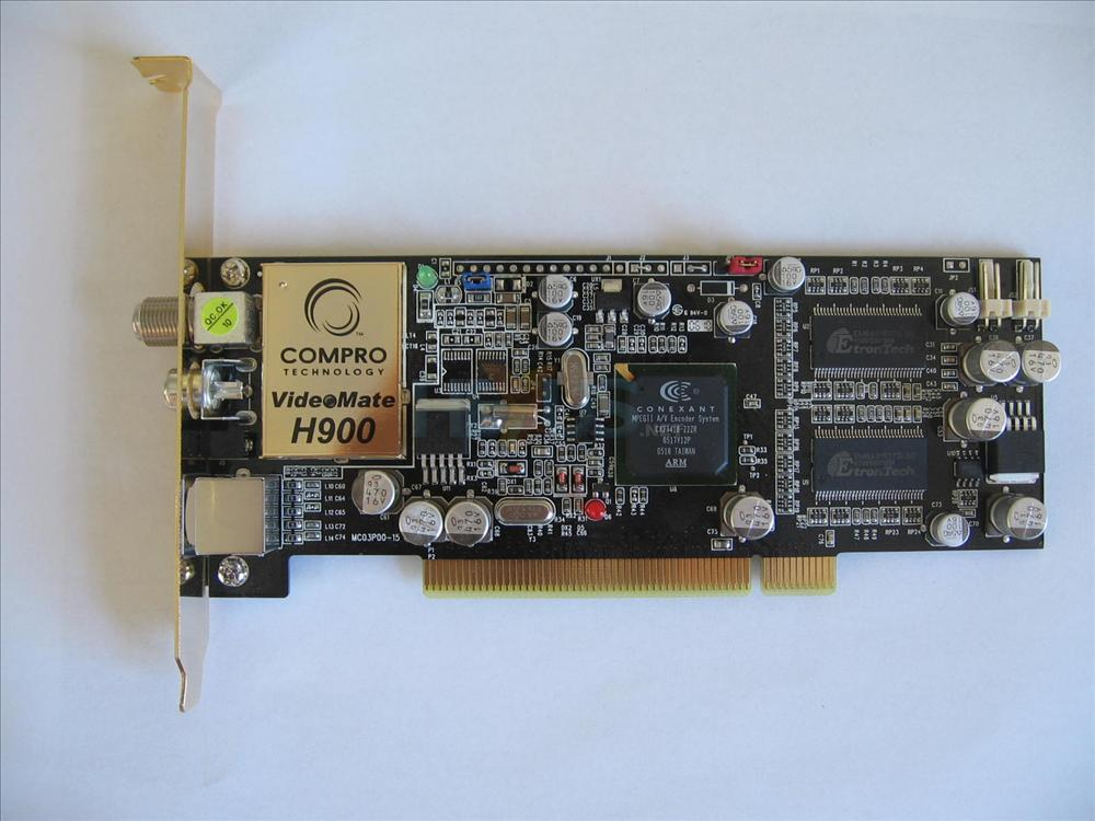 Review Compro VideoMate H900 TV Tuner