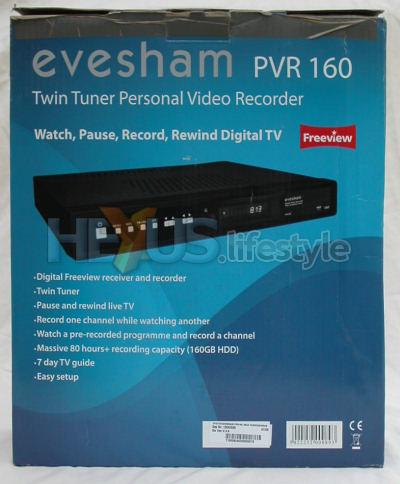 Evesham PVR160 retail box