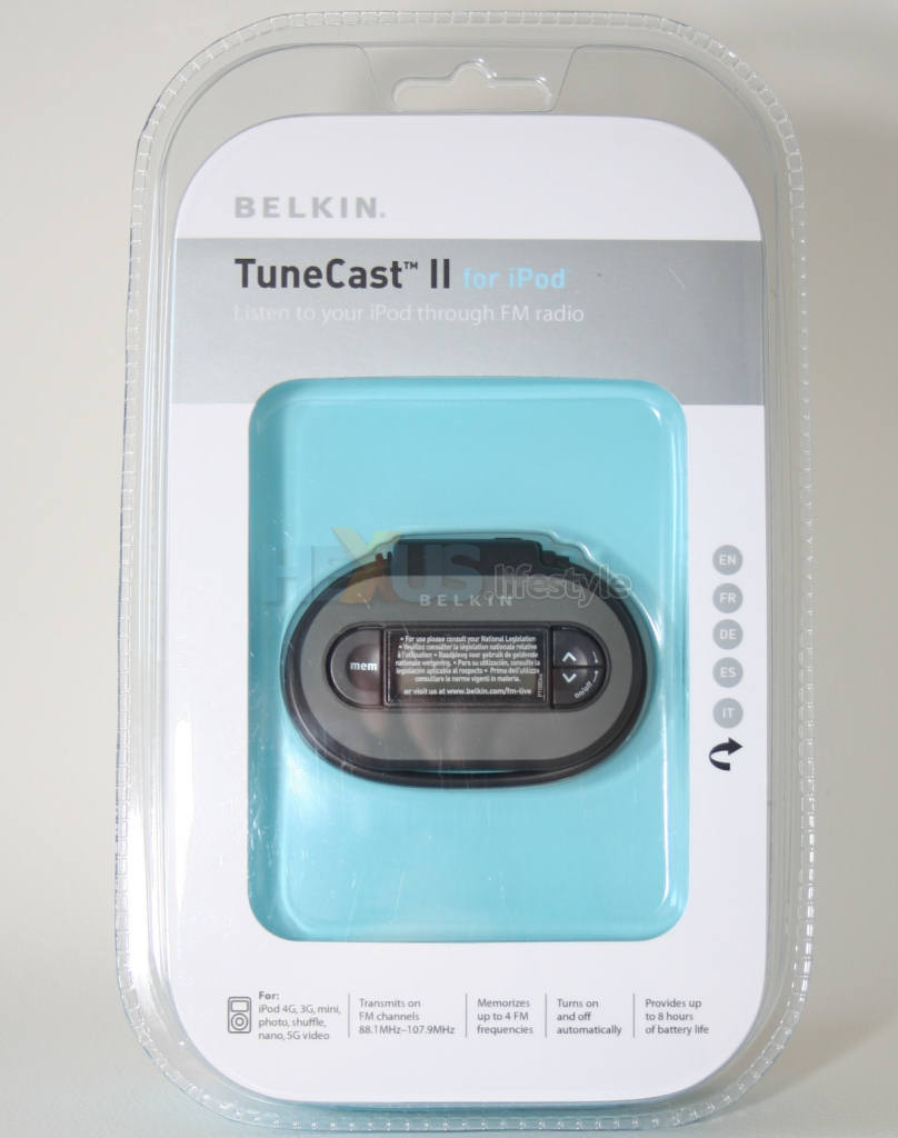 Belkin Tunecast Auto Universal Review Five Fm Transmitters For Ipods And Personal Players