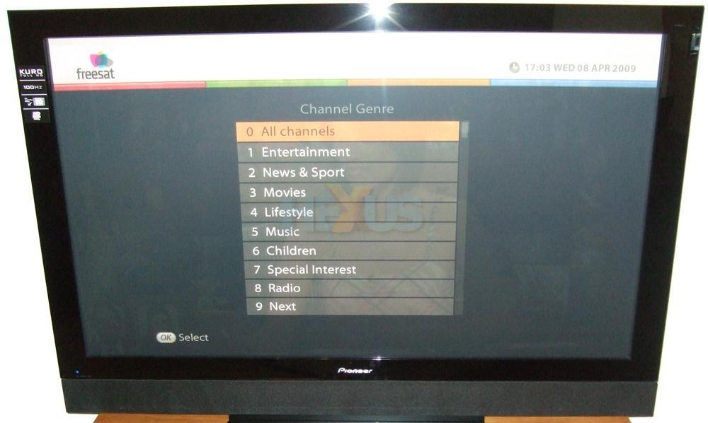 Review: Humax FOXSAT-HDR: subscription-free HDTV heaven? - Audio
