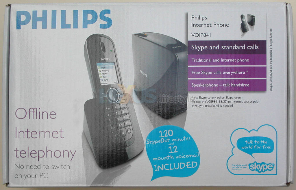 Philips VOIP841 PC-free DECT/Skype phone - world's first review ...