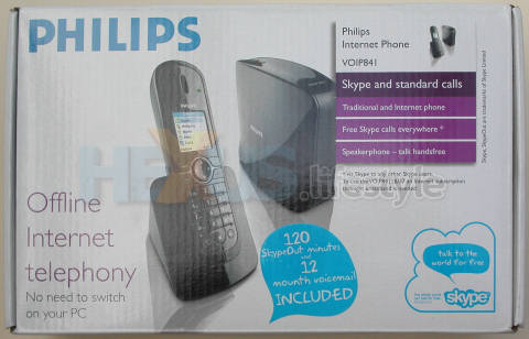 Philips VOIP841 - box front