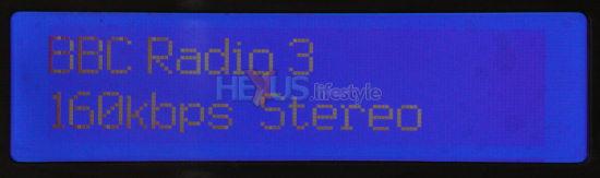 PURE Tempus-1XT display