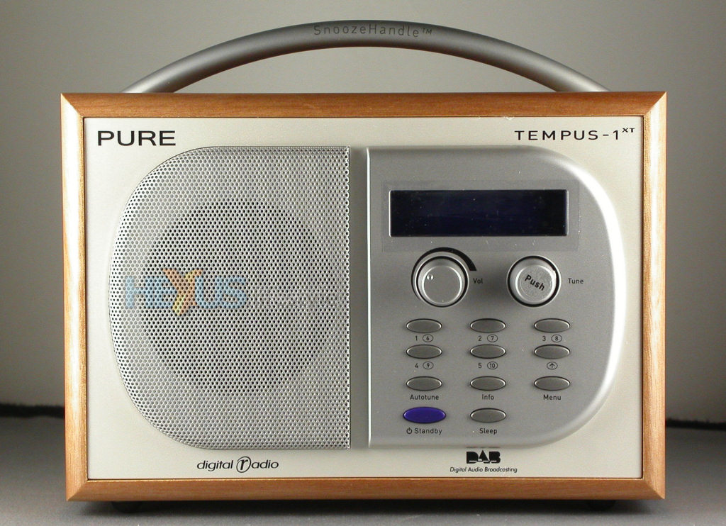 review pure tempus 1xt dab radio audio visual hexus. Black Bedroom Furniture Sets. Home Design Ideas