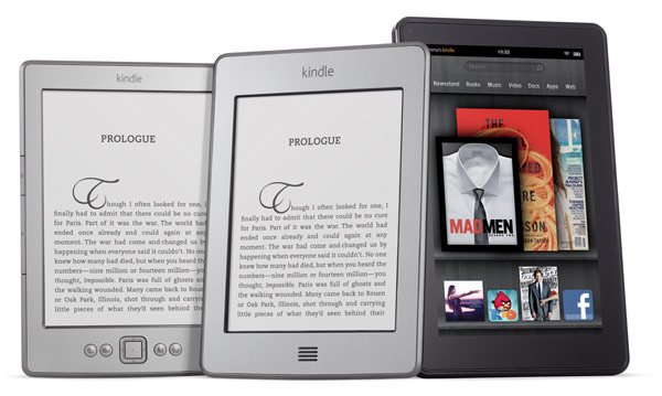 Amazon Kindle Fire, Touch and Standard