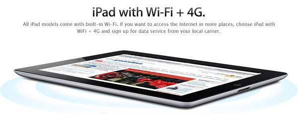 Apple iPad no 4G