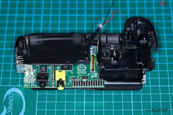 Raspberry Pi Canon Mod